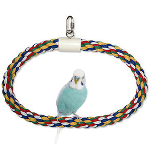 Aspen/Booda Corporation - Swing N Perch 1 Ring Medium - 1 Toy
