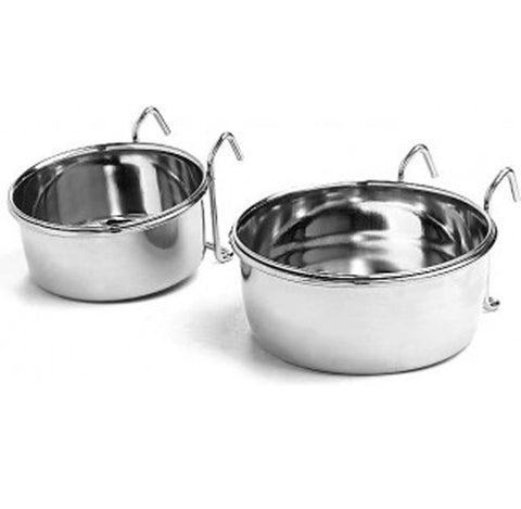Ethical Pet Products - Stainless Steel CoopCup with Hanger.