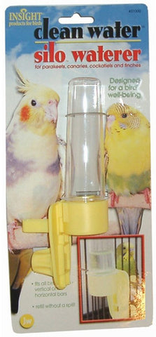 JW PET Insight Clean Water Silo Bird Waterer Regular
