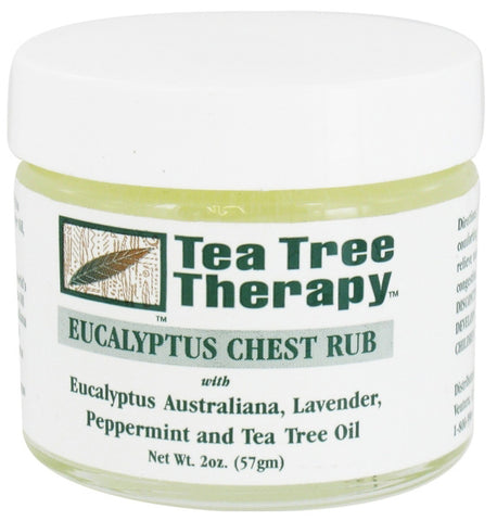 Tea Tree Therapy Eucalyptus Chest Rub