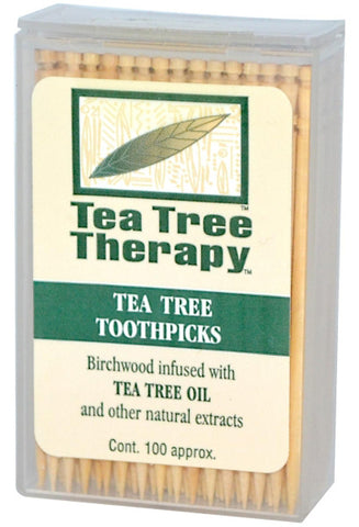 Tea Tree Therapy Toothpicks Standard