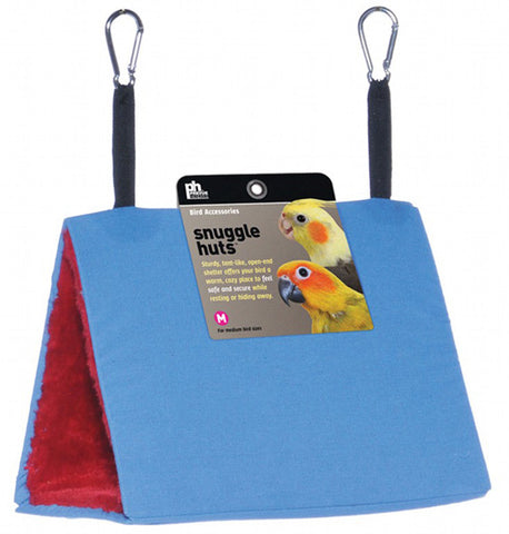 Prevue Pet Products - Snuggle Hut Cloth Bird Bed Medium