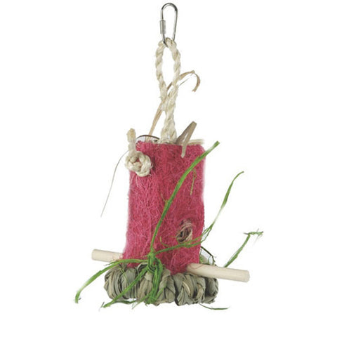 Prevue Pet Products - Tropical Teasers Shreddable Shack Bird Toy