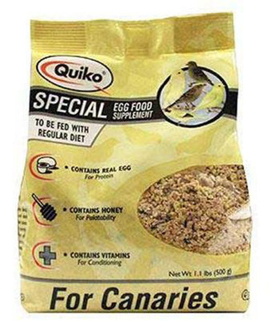 Sun Seed Company - Quiko Special Egg Food Supplement - 1.1 Lb. (500 g)
