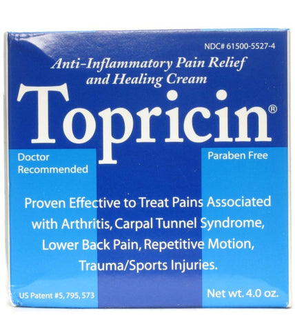 TOPRICIN - Pain Relief and Therapeutic Healing Cream