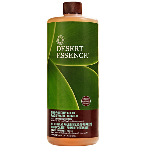 DESERT ESSENCE - Thoroughly Clean Face Wash Original