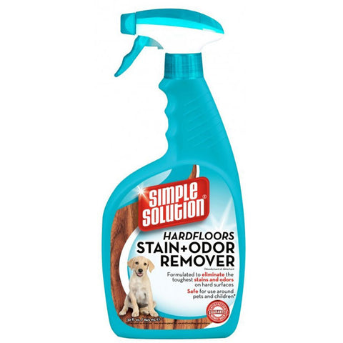 Bramton Company - Simple Solution Hardfloors Stain & Odor Remover - 32 fl. oz. Spray