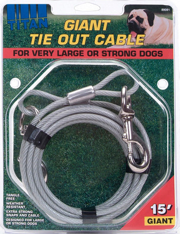 Coastal Pet Products - Titan Giant Tie-out Cable