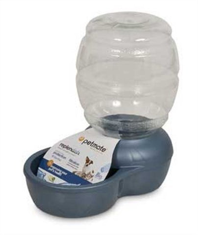 PETMATE - Replendish Feeder with Microban Pearl Peacock Blue