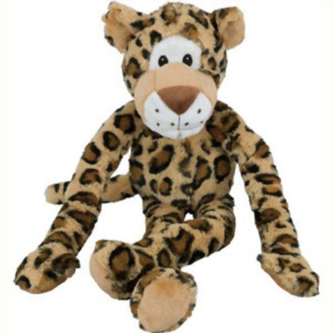 MULTIPET - Swingin Safari Leopard Large Plush Dog Toy
