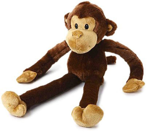MULTIPET - Swingin Safari Monkey Large Plush Dog Toy
