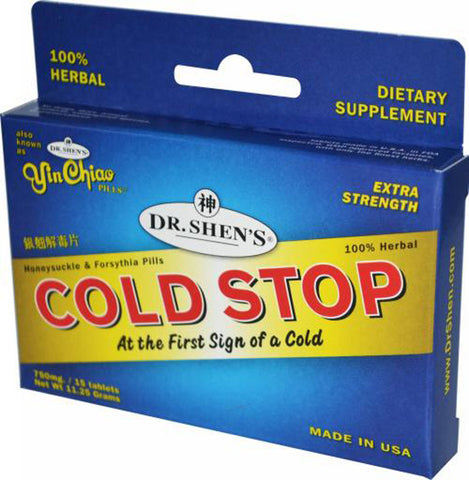 DR SHENS - Cold Stop