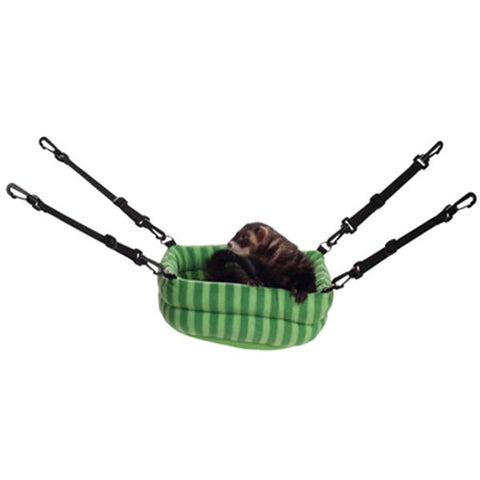 MARSHALL - 2-in-1 Hanging Ferret Bed, Green