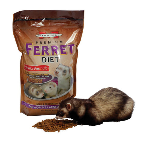 Marshall Pet - Premium Ferret Diet Senior Formula - 4 Lbs. Bag
