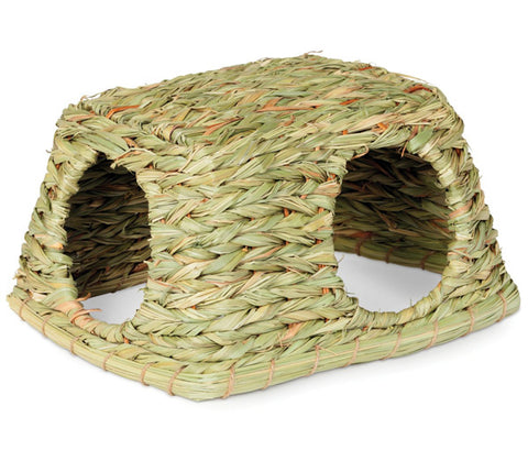 PREVUE - Nature's Hideaway Grass Hut Toy, Medium