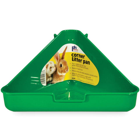 Prevue Pet Products - Ferret/Rabbit Corner Litter Pan