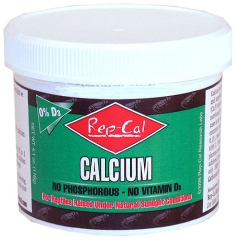 Rep-Cal -  Calcium, Phosphorus & Vitamin D3 Free - 4.1 oz.