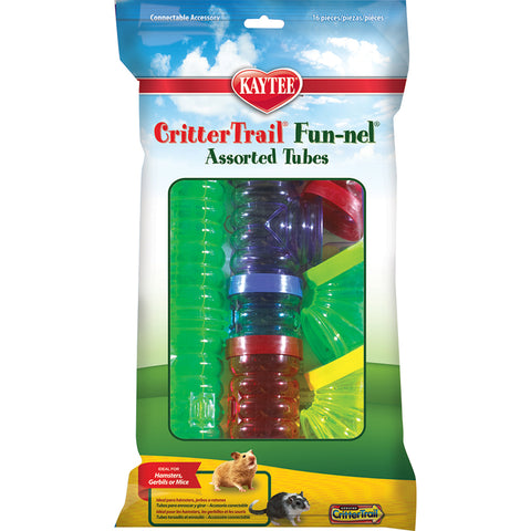 CRITTERTRAIL - Fun-nels Assorted Tubes