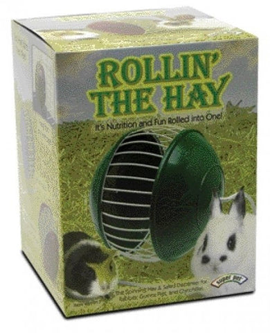 "Super Pet - Rollin' The Hay - 5.5"" x 5.5"" x 7.25"""