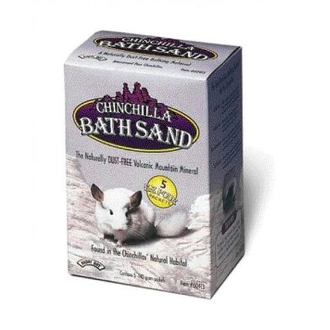 Super Pet - Chinchilla Bath Sand - 5 x 140 Grams