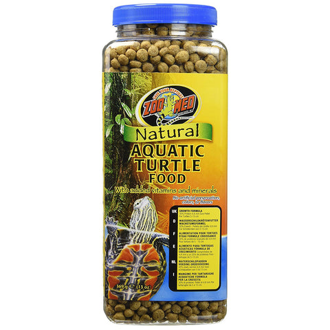 ZOO MED - Aquatic Turtle Food Growth Formula