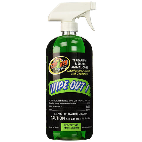 ZOO MED - Wipe Out 1 Terrarium Cleaner