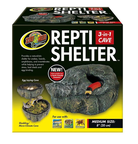 ZOO MED - Repti Shelter 3 In 1 Cave Medium