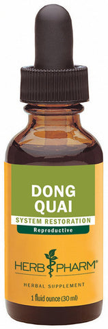 HERB PHARM Dong Quai Extract for Female Reproductive System Support