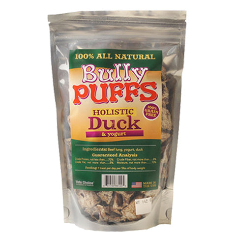Health Extension Bully Puffs Duck Dog Treats