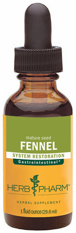 HERB PHARM - Fennel Extract for Digestive System Support