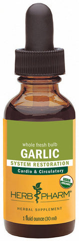 HERB PHARM Garlic Extract for Cardiovascular and Circulatory Support