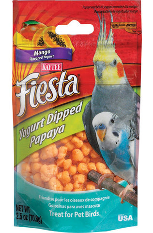 KAYTEE - Fiesta Yogurt Dipped Papaya Mango Flavored Yogurt