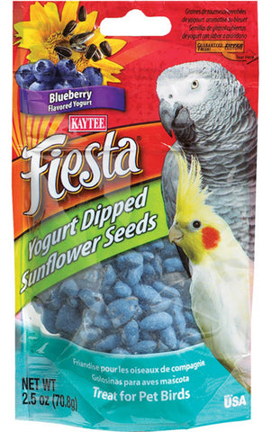 KAYTEE - Fiesta Yogurt Dipped Sunflower Seeds Blueberry Yogurt