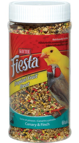 KAYTEE - Fiesta Tropical Fruit Treat Jar Canary & Finch