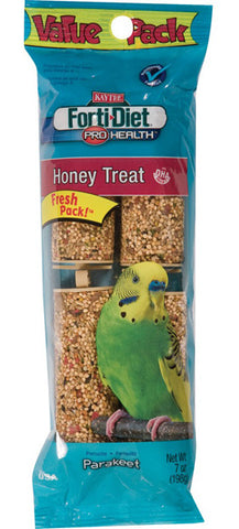 KAYTEE - Forti-Diet Pro Health Parakeet Honey Stick