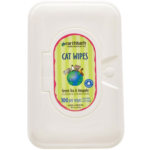 EARTHBATH - Green Tea Leaf Cat Wipes