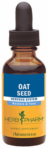HERB PHARM Oat Seed Extract for Nervous System Support