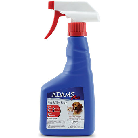 ADAMS - Flea and Tick Spray for Cats and Dogs
