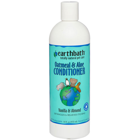 EARTHBATH - Oatmeal & Aloe Conditioner, Vanilla & Almond Scent