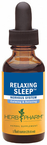 HERB PHARM Relaxing Sleep Herbal Formula with Valerian Extract
