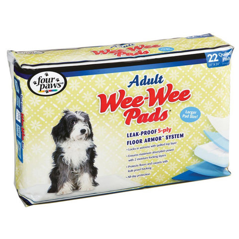 FOUR PAWS - Wee Wee Pads for Adult Dogs