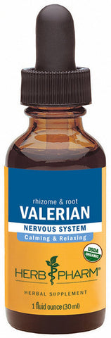 HERB PHARM - Valerian Root Extract for Relaxation and Restful Sleep