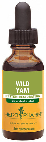 HERB PHARM - Wild Yam Extract for Musculoskeletal System Support