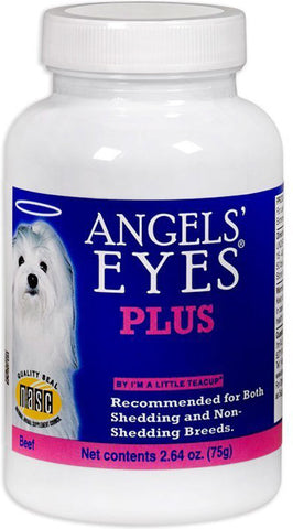 ANGELS' EYES PLUS - Natural Supplement for Dogs Beef Flavor