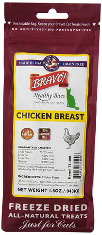 BRAVO - Healthy Bites Chicken Bre-Assistance for Cats