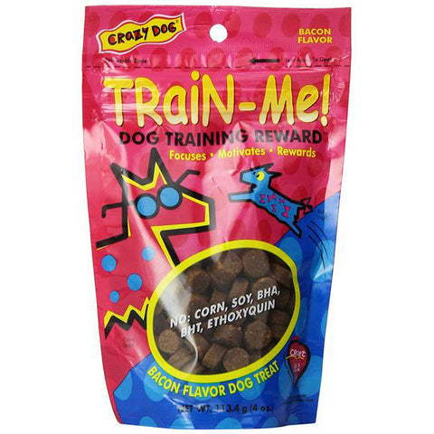 CRAZY DOG - Train-Me Training Rewards Bacon Flavor Dog Treat