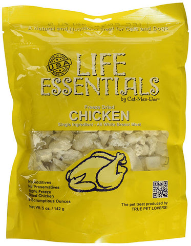 CAT-MAN-DOO - Life Essentials Freeze Dried Chicken