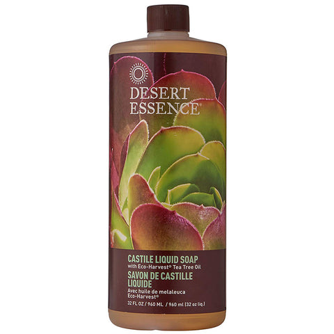 DESERT ESSENCE - Castile Liquid Soap