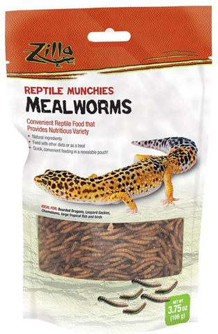 ZILLA - Reptile Munchies Mealworms Lizard Food 316553