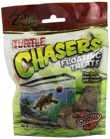 ZILLA - Turtle Chasers Floating Treats Real Shrimp